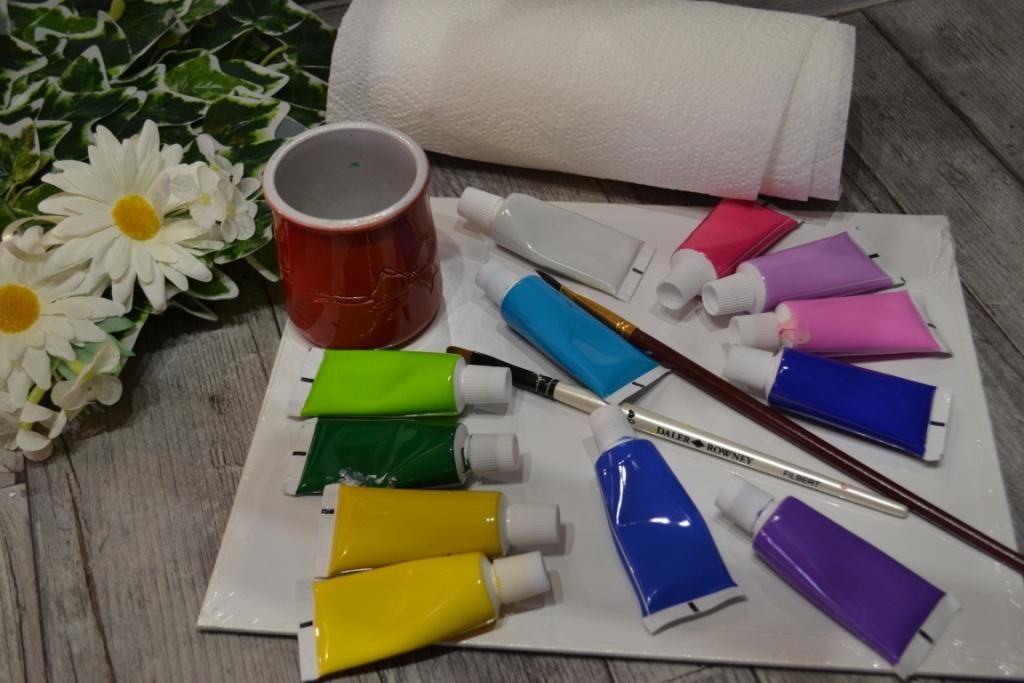 Atelier Peinture Facile Realiser Un Tableau A L Acrylique Peindre Des Hortencias Hydrangeas Video