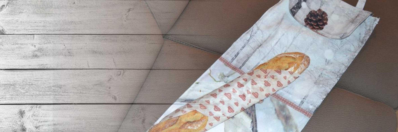Confectionner un sac à pain, couture facile