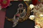 2 minutes pour Créer : Tableau Home Déco - Pierrot La Lune sur Carton Plume en fil tendu, VIDEO