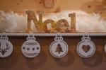 ATELIER de NOEL - FESTIF : Ambiance Nordique Mot à Poser NOEL, TUTORIEL