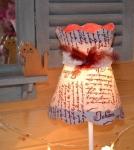 ATELIER HOME DECO/ LUMINAIRE : LAMPE ABAT JOUR - Apprendre à réaliser un abat-jour conique en forme de chapeau d'antan, VIDEO