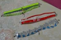 Atelier Bijoux : Rubans Récup pour Bracelets-Manchettes, recycler ses chutes de ruban, VIDEO