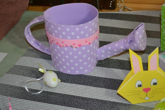 Atelier Bricolage Adulte/Enfant : Arrosoir en mousse ou transformable en cache pot, tutoriel