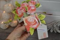 Atelier CARTERIE : CARTE POP UP BOUQUET pour la FETE DES MERES ou anniversaire , TUTORIEL