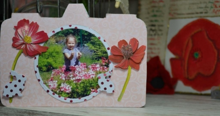 Atelier Carterie : Carte Souvenir appareil Photo, tutoriel