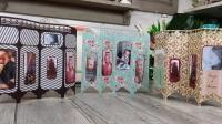 ATELIER CARTERIE :  Des CARTES de VOEUX originales  en forme de Paravent avec  PHOTOS Souvenirs, TUTORIEL