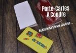 Atelier COUTURE FACILE/ bricolage : COUDRE un  PORTE-CARTES en Simili Cuir,  TUTORIEL