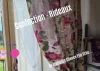 Atelier COUTURE FACILE : confectionner RIDEAUX ou Double RIDEAUX, TUTORIEL