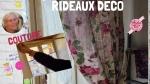 Atelier COUTURE FACILE : confectionner RIDEAUX ou Double RIDEAUx,  VIDEO