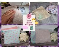 Atelier COUTURE FACILE : CONFECTIONNER un  SAC SPECIAL MASQUES, Filet de lavage  ,  TUTORIEL