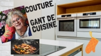 Atelier COUTURE FACILE : COUDRE UN GANT DE CUISINE hyper FACILE,  VIDEO