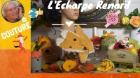 Atelier COUTURE FACILE : coudre une écharpe RENARD, VIDEO
