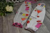 Atelier Couture facile  : Détourner un joli torchon neuf en un Sac  rangement ou sac à sacs,  TUTORIEL