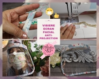 Atelier COUTURE FACILE : FABRIQUER une VISIERE ANTI-PROJECTION ou ECRAN FACIAL, ADULTE - DIY, TUTORIEL