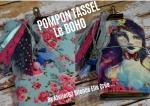 Atelier COUTURE FACILE :  REALISER des POMPONS TASSEL en RUBANS de DENTELLE, POMPON BOHO Recyclage Zéro Déchet, couture facile ,  TUTORIEL