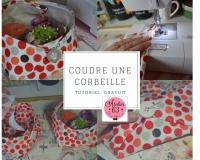 Atelier COUTURE FACILE : Réaliser une CORBEILLE TEXTILE pour son ATELIER, VIDEO