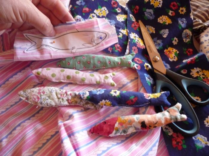 Atelier COUTURE FACILE : Sardines à fleurs !  Collection Parfum du Jardin, parfum lavande, TUTORIEL