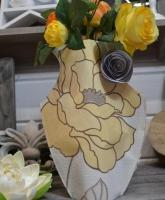 Atelier COUTURE/HOME DECO : Coudre  un VASE DECO imitation cuir , TUTORIEL