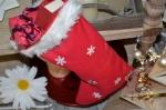 Atelier de NOEL : Comment réaliser une botte de NOEL, couture facile Vidéo