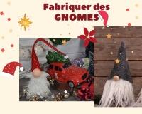 ATELIER DE NOEL - FESTIF :  Fabriquer des GNOMES NOEL,, TUTORIEL
