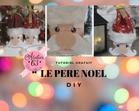 ATELIER de NOEL - FESTIF :  Fabriquer un PERE NOEL DIY ET RECYCLAGE, VIDEO
