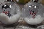 Atelier de NOEL :  Boules de NOEL , boules de NOEL à colorier = Une affaire de Famille, Tutoriel