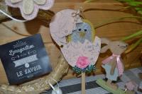 Atelier Bricolage Adulte/Enfant : 1 Oeuf de Pâques et son Invité Mystère, tutoriel