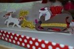 ATELIER de NOEL - FESTIF - Enfant : Le Père NOEL et son traineau en mousse, TUTORIEL