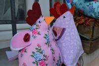 Atelier ENFANT TUTO HOME DECO : Réaliser de jolies POULES BERLINGOT avec les enfants, doudou ou déco , TUTORIEL