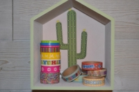 Atelier HOME DECO : Customiser de petites Etagères-Maison, pour une déco Cosy, tutoriel