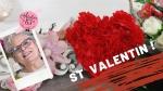 Atelier HOME DECO - FESTIF : Fabriquer un COEUR DECO rempli de Fleurs Rouges en papier  pour la ST VALENTIN - DIY, VIDEO