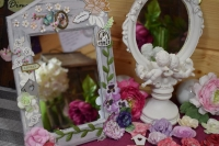 Atelier Home Déco : Miroir champêtre, tutoriel