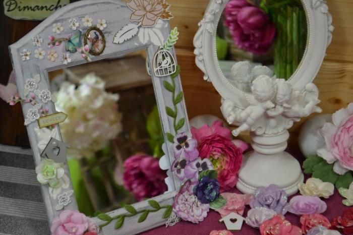 Atelier Home Déco : Miroir champêtre, vidéo