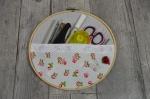 Atelier Home Déco : Rangement Créatif avec un cercle (tambour) à broder, tutoriel