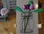 Atelier Home Déco : Tableau en fils tendus, VIDEO