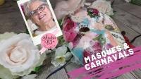 Atelier MASQUE - FESTIF : réaliser un MASQUE CARNAVAL  ou de FETE - DIY, VIDEO