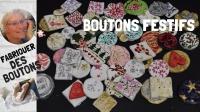 Atelier  MODELAGE - FESTIF : Fabriquer des  BOUTONS FESTIFS pour NOEL,  VIDEO