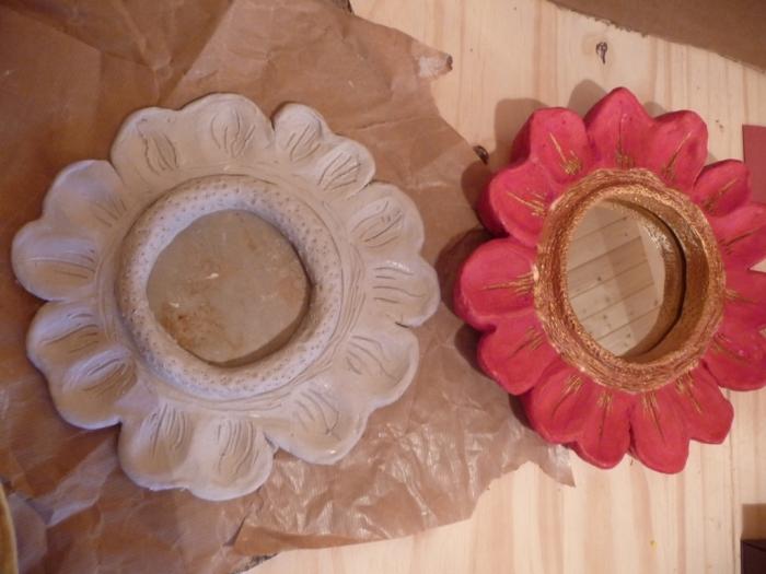 Atelier MODELAGE : Travailler autour d'un miroir, TUTORIEL