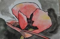 ATELIER PEINTURE FACILE - AQUARELLE :  Peindre un coquelicot (pour débutants), TUTORIEL