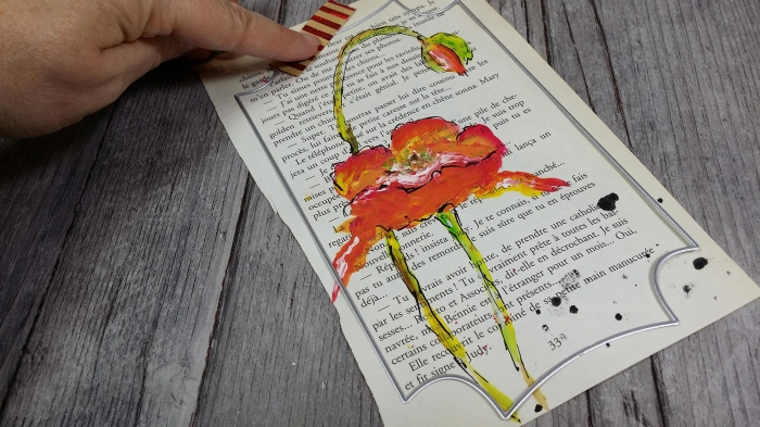 Atelier PEINTURE FACILE : Peindre avec la  TECHNIQUE du ONE STROKE des PAGES de VIEUX LIVRES, TUTORIEL