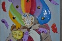 ATELIER PEINTURE FACILE : Peindre un Masque de Venise, VIDEO