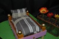 Atelier RECYCLAGE/Upcyclage/Customisation : Petit lit de poupée, TUTORIEL