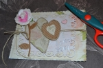 ATELIER CARTERIE : Réaliser une Carte SHABBY CHIC, VIDEO