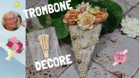 Atelier SCRAP DECO : Décorer des trombones en bouquet - trombones altérées,  VIDEO
