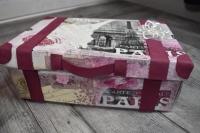 """Atelier Scrap Déco : Ma Valise en Carton """"Voyage"""", tutoriel"""