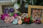 Atelier Scrap Déco : Mes embellissements fleurs 3D fait maison, vidéo