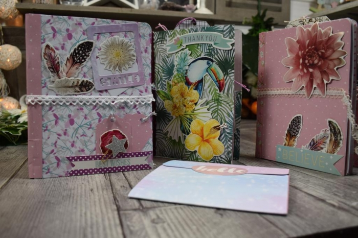 Atelier SCRAP  : Réaliser un FLIP BOOK ,  VIDEO