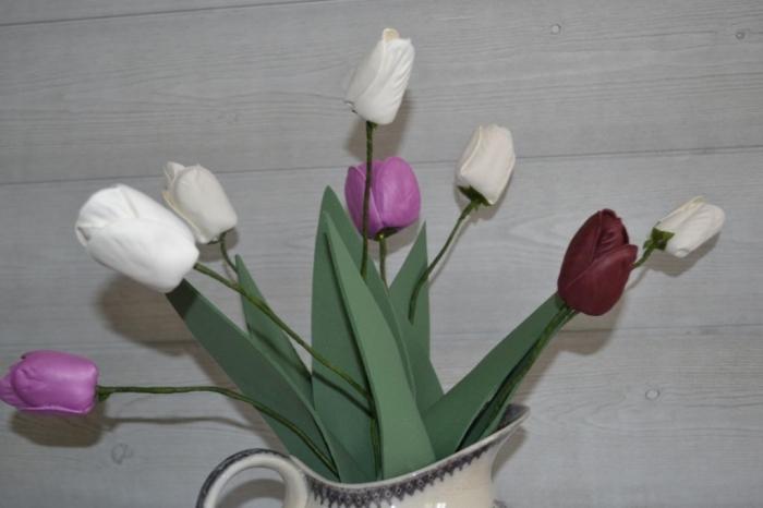 Atelier Thermoformage : Thermoformer pour modeler un bouquet de Tulipes, vidéo