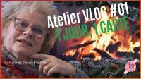 ATELIER VLOGMAS #01 - 1, 2, 3, et 4 Décembre 2020 - Un jour = Une Carte , une friandise comme un calendrier de l'Avent,  VIDEO