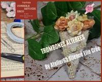 BLOC NOTES  : FICHE PRODUITS NECESSAIRES Réalisation de TROMBONES ALTEREES trombones customisées, BLOC NOTES